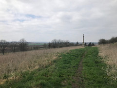 Somerby Monument from far